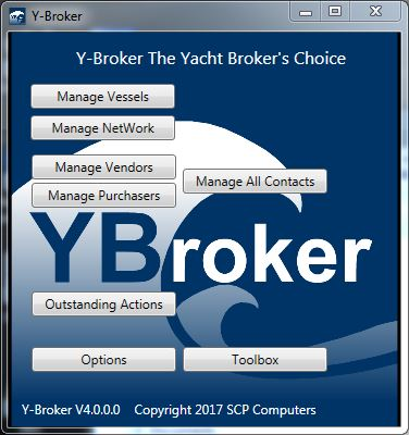 YBroker Yacht Broker CRM Software - Screen shot 1